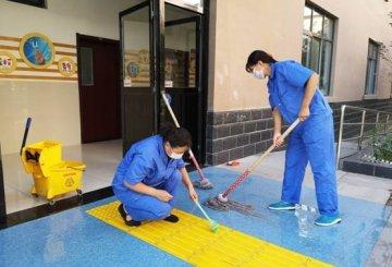 市特教学校扎实做好开学前环境卫生消杀工作